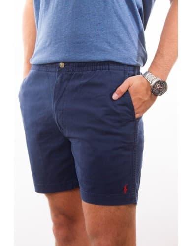ביגוד פולו ראלף לורן לגברים Polo Ralph Lauren Classic Fit Polo Shorts - כחול כהה