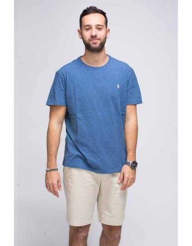 חולצות אופנה פולו ראלף לורן לגברים Polo Ralph Lauren T Shirt - כחול
