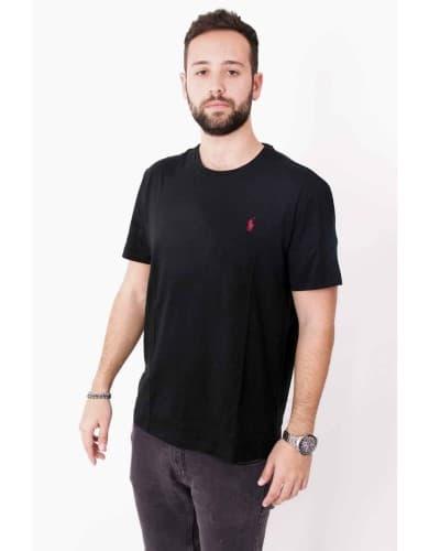 ביגוד פולו ראלף לורן לגברים Polo Ralph Lauren Polo T Shirt - שחור