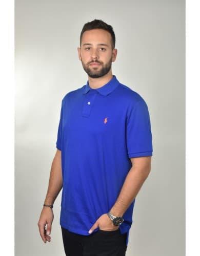 חולצות אופנה פולו ראלף לורן לגברים Polo Ralph Lauren Classic Fit Shirt - כחול