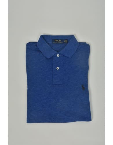 ביגוד פולו ראלף לורן לגברים Polo Ralph Lauren Classic Fit Polo Shirt - כחול כהה