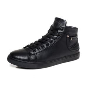 נעליים אל איי פולו  לגברים LA POLO 8173 - שחור