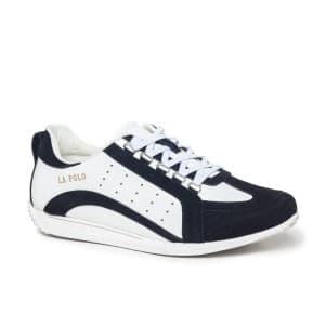 נעליים אל איי פולו  לגברים LA POLO 8187 - שחור/לבן