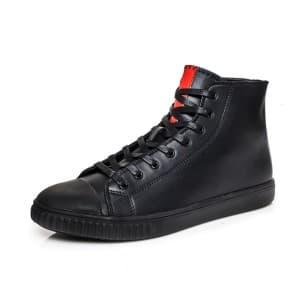 נעליים אל איי פולו  לגברים LA POLO 8573 - שחור