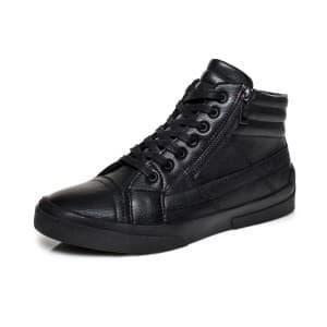 נעליים אל איי פולו  לגברים LA POLO 8121 - שחור