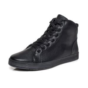 נעליים אל איי פולו  לגברים LA POLO 8170 - שחור