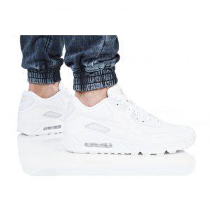 נעליים נייק לגברים Nike AIR MAX 90 LEATHER - לבן
