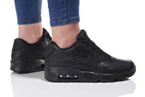 נעליים נייק לנשים Nike  AIR MAX 90 LTR K - שחור