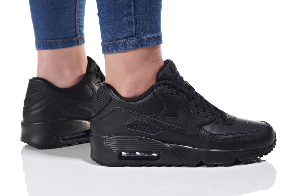 נעליים נייק לנשים Nike AIR MAX 90 LTR - שחור