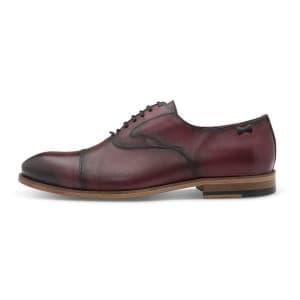 נעליים אלגנטיות פיוקו נרו לגברים FIOCCO NERO OXFORDS 501S - בורדו