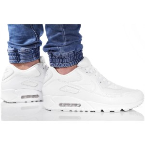 נעלי הליכה נייק לגברים Nike Air Max 90 Essential - לבן