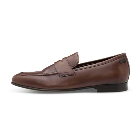 נעליים אלגנטיות פיוקו נרו לגברים FIOCCO NERO LOAFERS 589 - חום