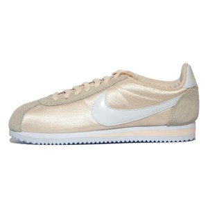נעליים נייק לנשים Nike CLASSIC CORTEZ  NYLON - בז'