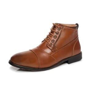 מגפיים קוואטרו קוואלי לגברים Quattro Cavalli 8164 - חום