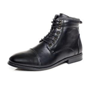 מגפיים קוואטרו קוואלי לגברים Quattro Cavalli 8166 - שחור