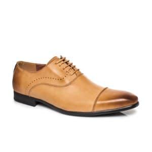 נעליים אלגנטיות קוואטרו קוואלי לגברים Quattro Cavalli 8555 - קאמל