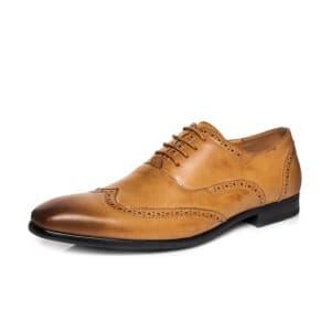 נעליים אלגנטיות קוואטרו קוואלי לגברים Quattro Cavalli 8568 - קאמל