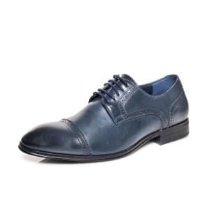 נעליים אלגנטיות קוואטרו קוואלי לגברים Quattro Cavalli 8569 - כחול
