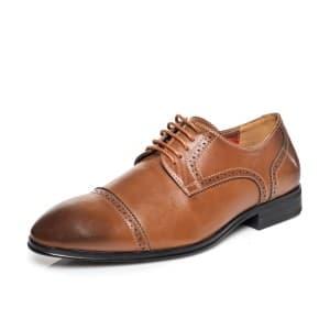 נעליים אלגנטיות קוואטרו קוואלי לגברים Quattro Cavalli 8569 - חום