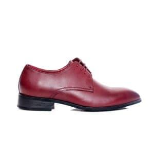 נעליים אלגנטיות קוואטרו קוואלי לגברים Quattro Cavalli 8577 - בורדו