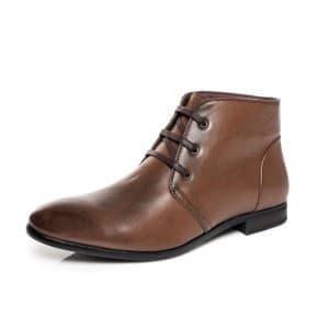 מגפיים קוואטרו קוואלי לגברים Quattro Cavalli 8579 - חום
