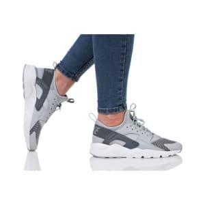 נעלי הליכה נייק לנשים Nike AIR HUARACHE RUN ULTRA SE - אפור בהיר