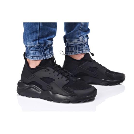 נעלי הליכה נייק לגברים Nike AIR HUARACHE RUN ULTRA - שחור