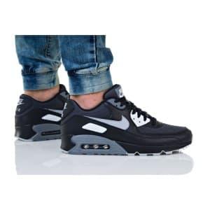 נעליים נייק לגברים Nike Air Max 90 Essential - שחור/אפור