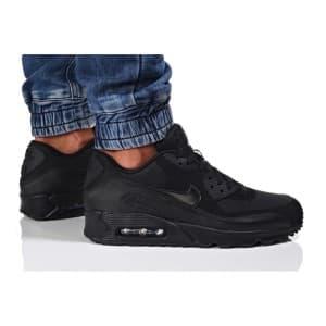 נעלי הליכה נייק לגברים Nike Air Max 90 Essential - שחור