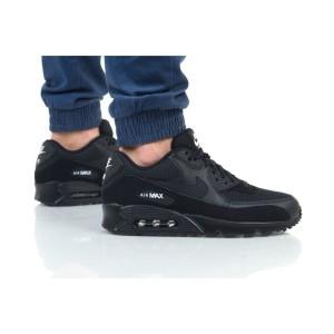 נעלי הליכה נייק לגברים Nike Air Max 90 Essential - שחור מלא