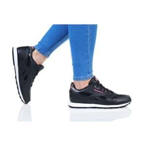 נעליים ריבוק לנשים Reebok CL LEATHER GIRL SQUAD - שחור/ורוד
