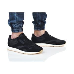 נעליים ריבוק לגברים Reebok CL NYLON SG - שחור