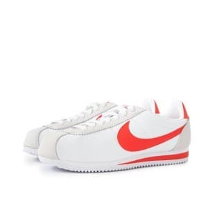 נעליים נייק לגברים Nike CLASSIC CORTEZ NYLON - לבן/כתום