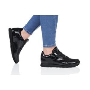 נעליים ריבוק לנשים Reebok CLASSIC LEATHER PATENT - שחור