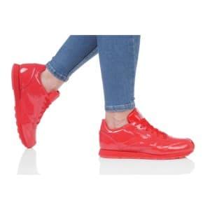 נעליים ריבוק לנשים Reebok CLASSIC LEATHER PATENT - אדום