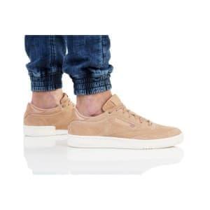 נעליים ריבוק לגברים Reebok CLUB C 85 MCC - חום בהיר