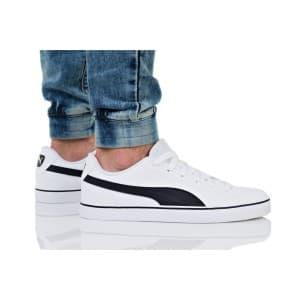 נעליים פומה לגברים PUMA COURT POINT VULC V2 - לבן