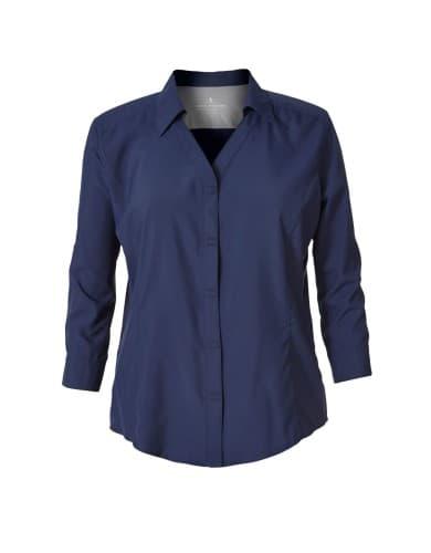 ביגוד רויאל רובינס לנשים Royal Robbins EXPEDITION 3Q SLV - כחול