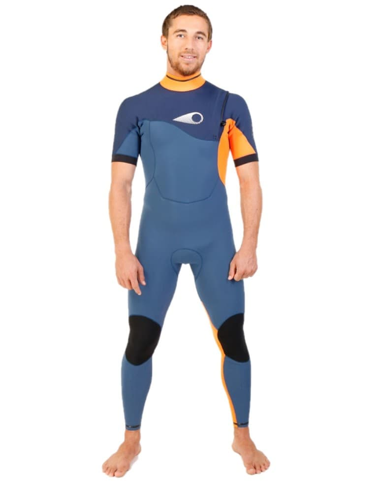בגדי ים סורוז לגברים Sooruz Fighter Semidry - כחול/כתום