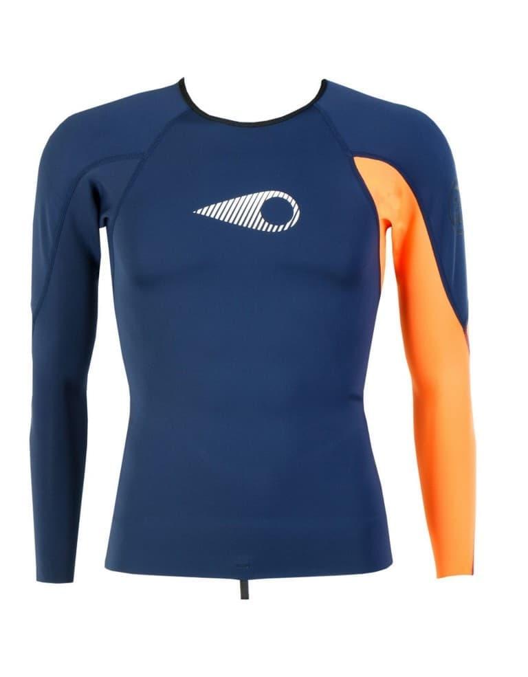בגדי ים סורוז לגברים Sooruz Fighter Top - כחול/כתום