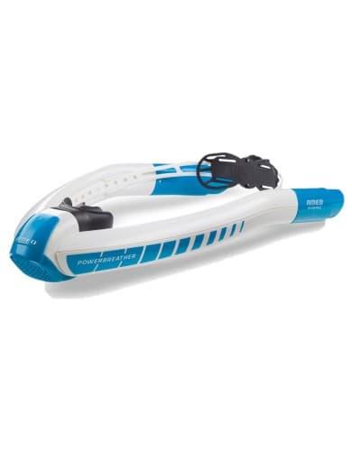 אביזרי שחייה אמאו לנשים Ameo Powerbreather Sport - כחול/לבן