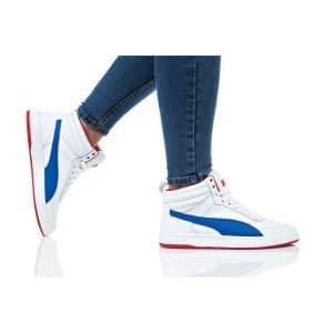 נעלי הליכה פומה לנשים PUMA REBOUND STREET V2 L - כחול/לבן