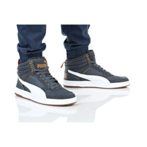 נעלי הליכה פומה לגברים PUMA REBOUND STREET V2 L - אפור