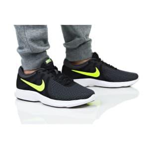 נעליים נייק לגברים Nike REVOLUTION 4 EU - שחור/צהוב