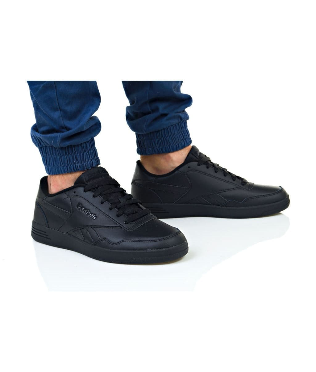 נעליים ריבוק לגברים Reebok ROYAL TECHQUE T - שחור מלא