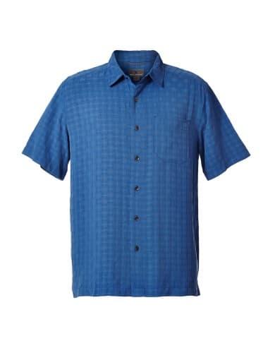 ביגוד רויאל רובינס לגברים Royal Robbins SAN JUAN DRY SS - כחול
