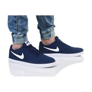 נעליים נייק לגברים Nike SB CHECK SOLAR CNVS - כחול
