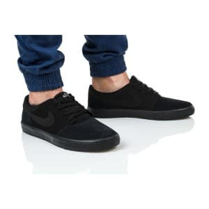 נעליים נייק לגברים Nike SB PORTMORE II - שחור מלא
