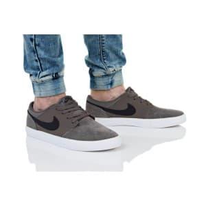 נעליים נייק לגברים Nike SB PORTMORE II - אפור