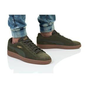 נעליים פומה לגברים PUMA SMASH V2 BUCK - ירוק